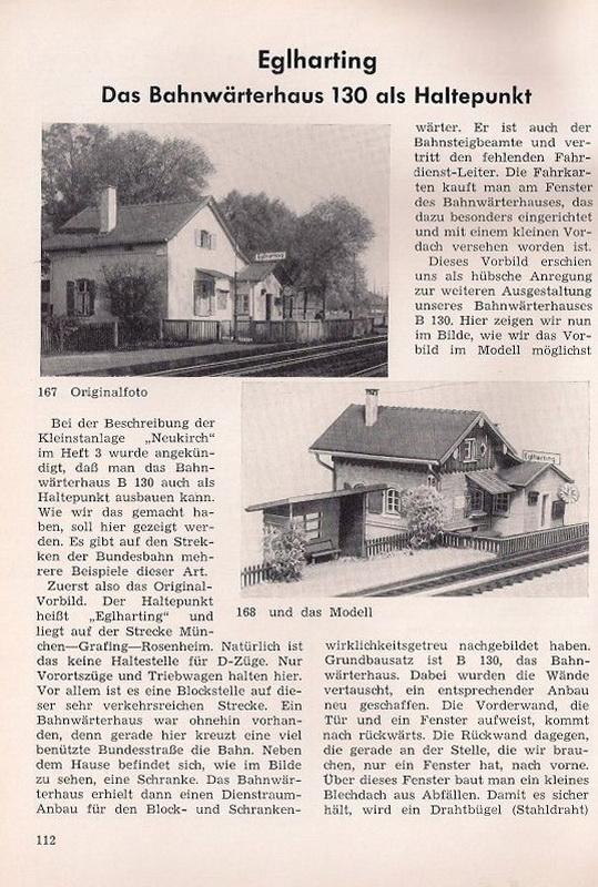 Umbau Faller Bahnwärterhaus 130/131