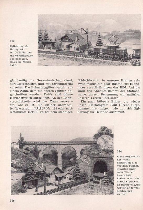 Faller Magazin 4, April 1958