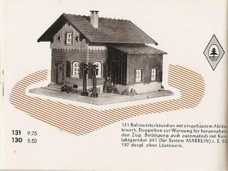 Faller Bahnwärterhaus 131/130
