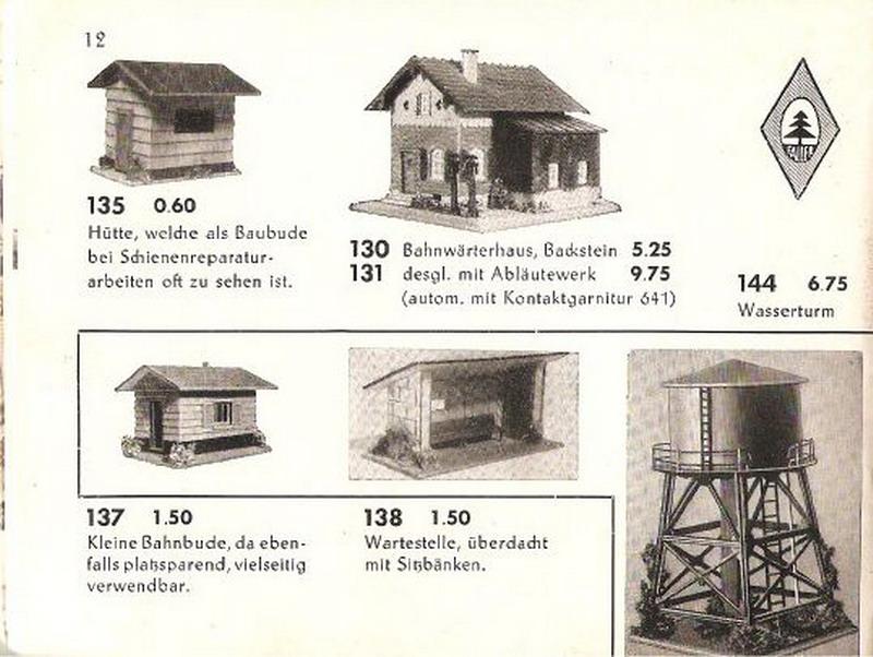 Faller Bahnwärterhaus 130/131