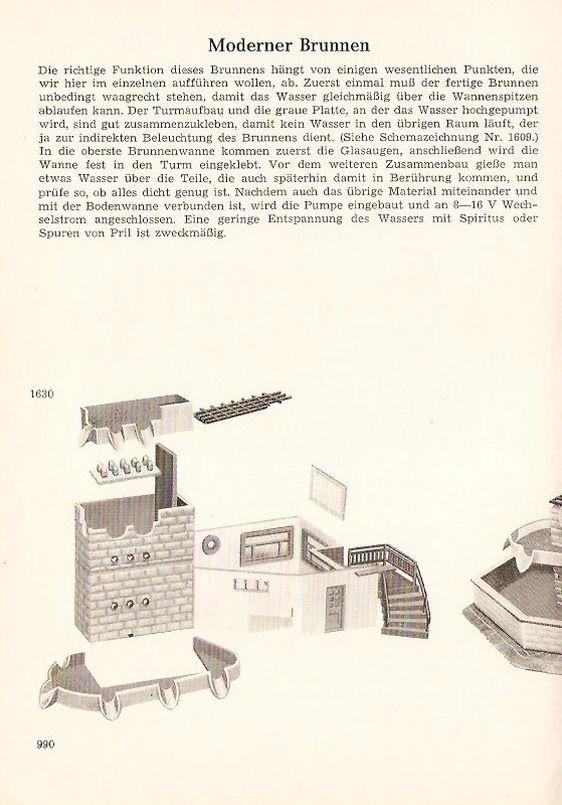 Faller Brunnen B-160, Faller Modellbau Magazin
