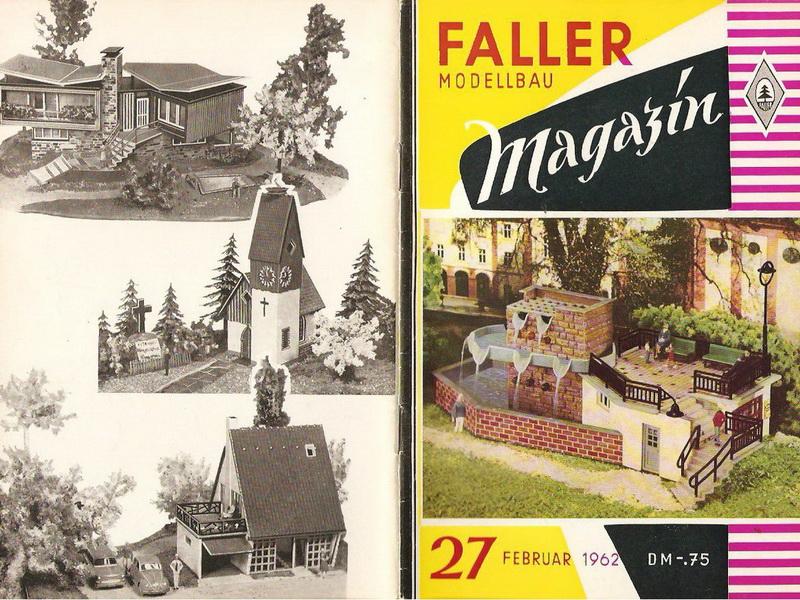 Deckblatt Faller Magazin 27, Februar 1962