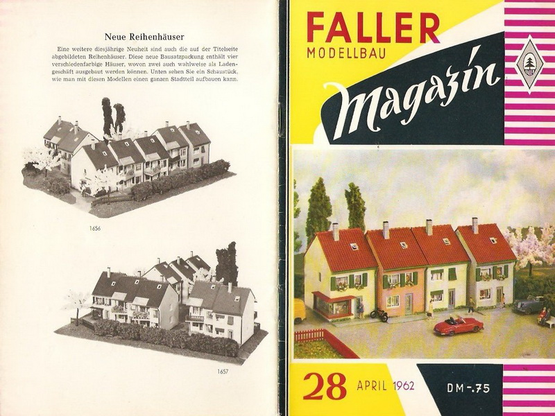 Deckblatt Faller Magazin 28, April 1962