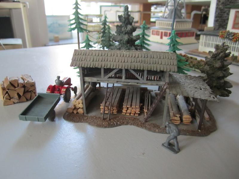 Faller Holzlager B-288