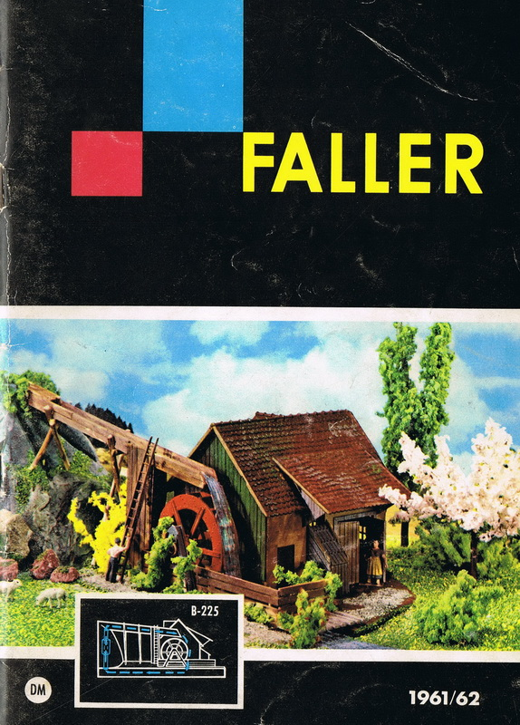 Deckblatt Faller Katalog 1961/62