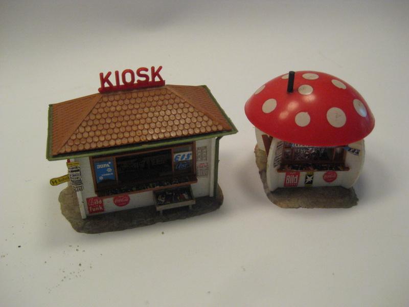 Faller Kiosk und Pilzkiosk B-135