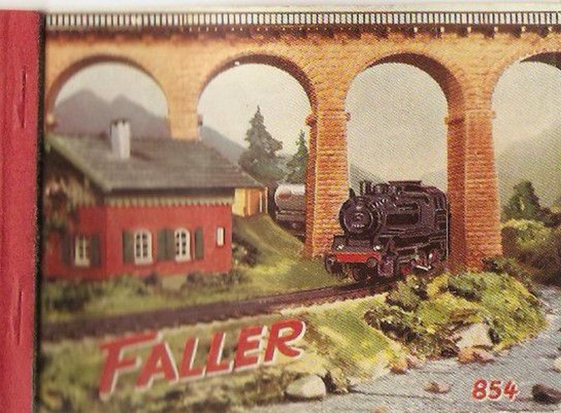 Deckblatt Faller Katalog 1954