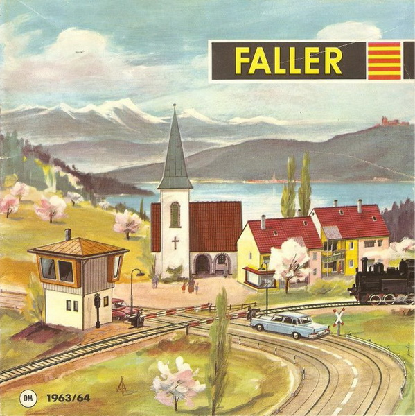 Deckblatt Faller Katalog 1963/64