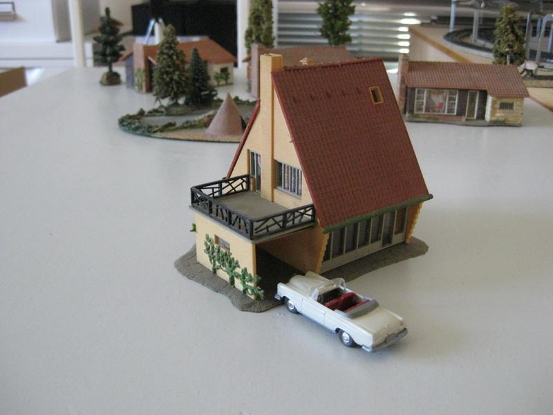 Faller Villa mit Garage B-221