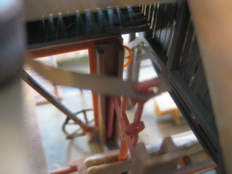 Faller Sägemühle B-230 Motor u. Antrieb