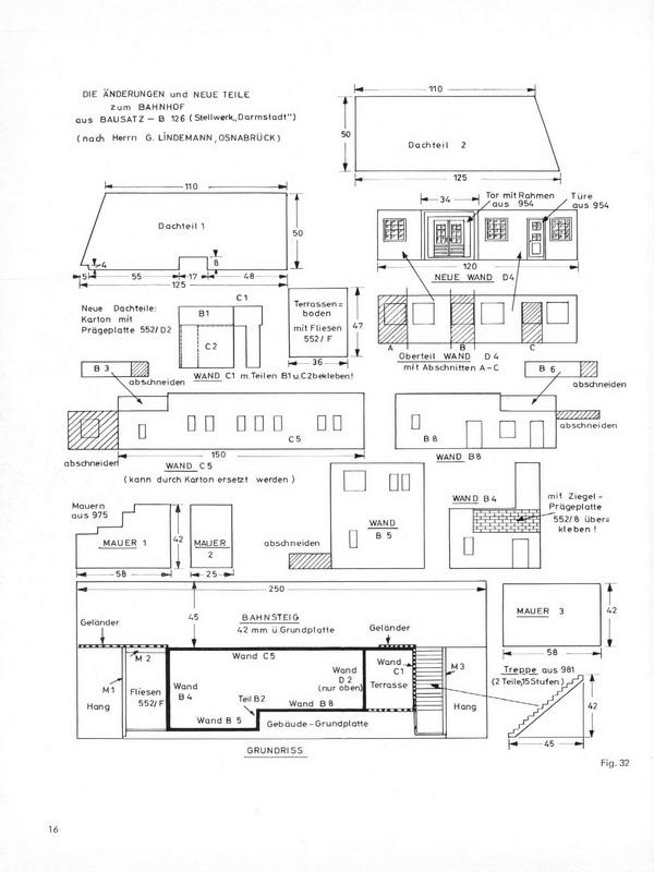 Bauvorschlag Faller Stellwerk B-126