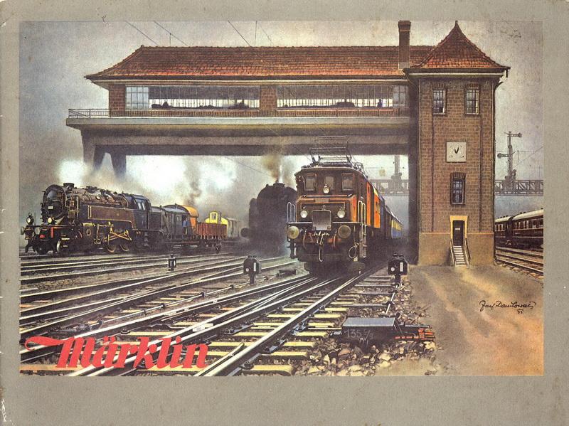 Märklin Katalog Deckblatt 1932