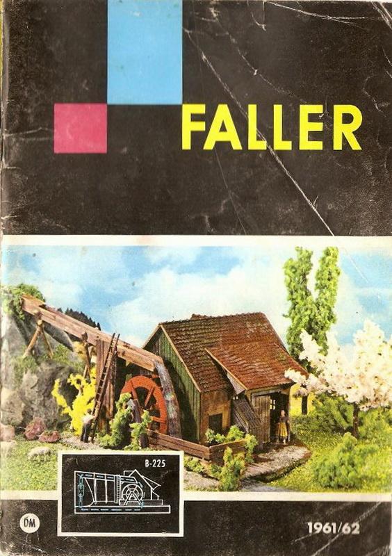 Faller Wassermühle B-225
