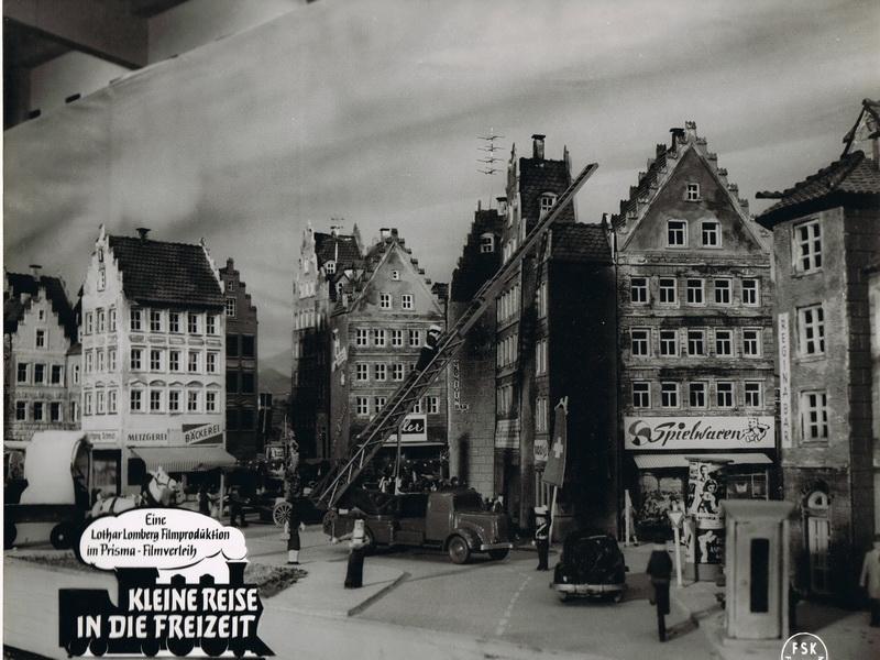 Modelleisenbahnfilm Bilder 1958