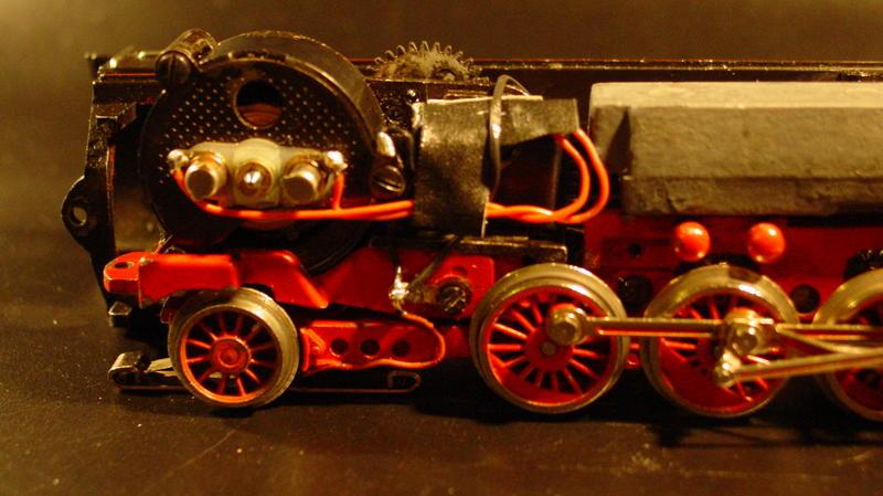 Fleischmann 1364 (S) BR 41 Umbau auf Märklin