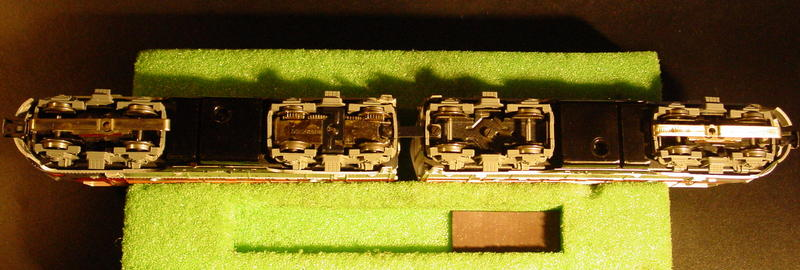 Fleischmann Umbau für Märklin F7 Burlington