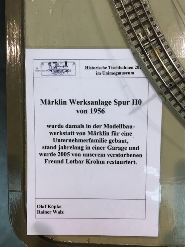 Gaggenau 2017 - Märklin Werksanlagen