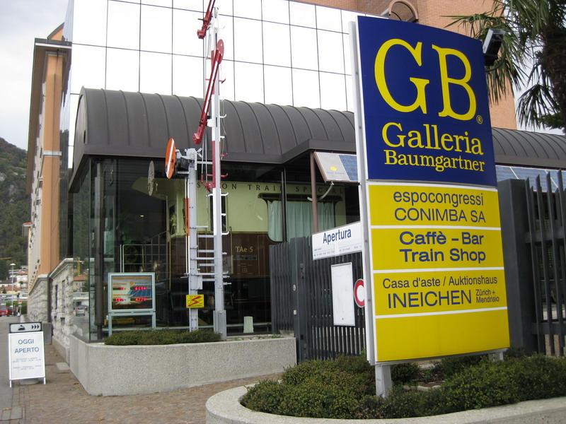 Galleria Baumgartner Mendrisio, Tessin, Schweiz