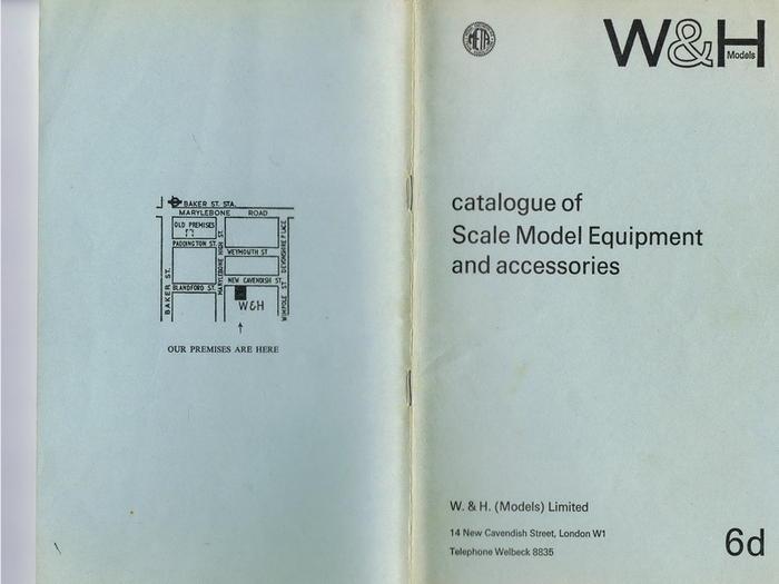 Katalog 1966 Walker und Holtzapffel