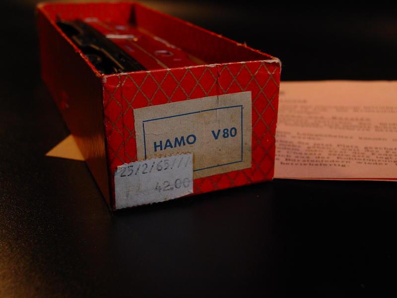 Hamo V 80 für Märklin Wechselstrom