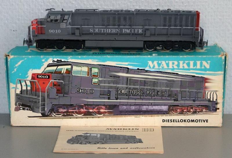 D,Diesellok Southern Pacific