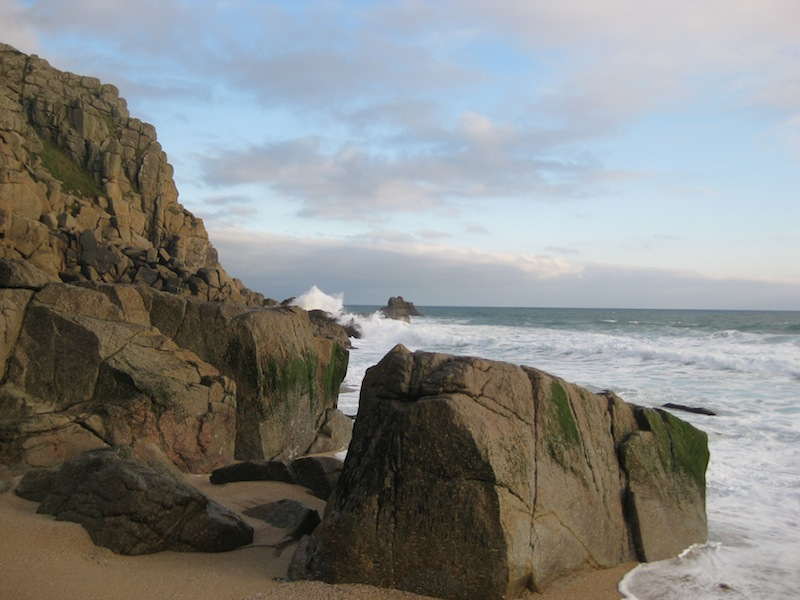 Cornwall Porth Chapel Beach