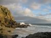 Cornwall Porth Chapel Beach