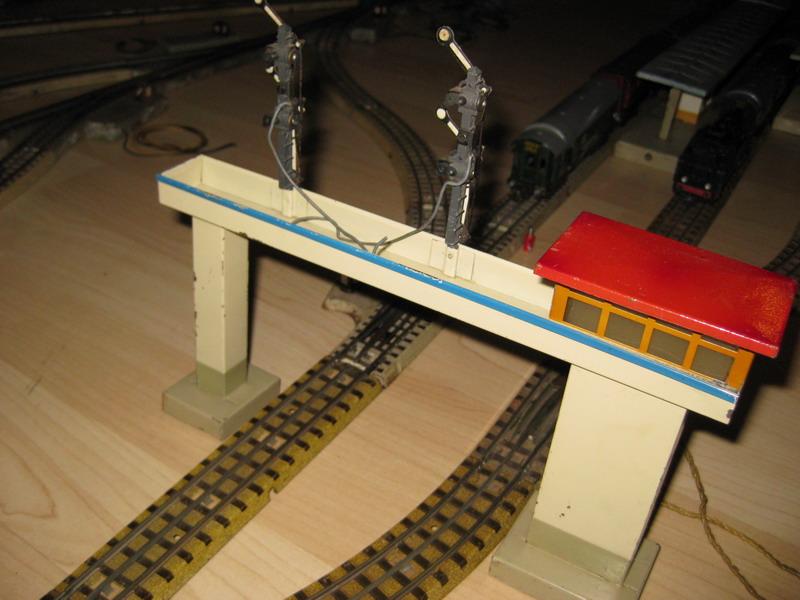 Kibri Blech Signalbrücke
