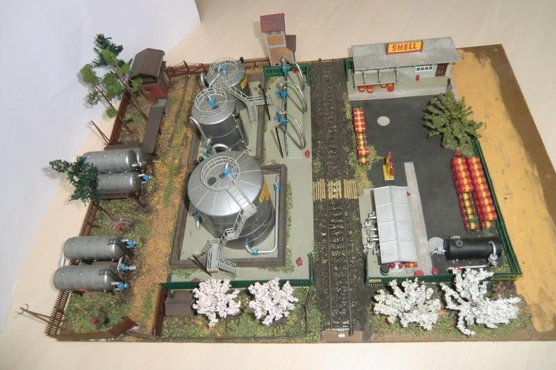 Kibri Tanklager 1959/1960