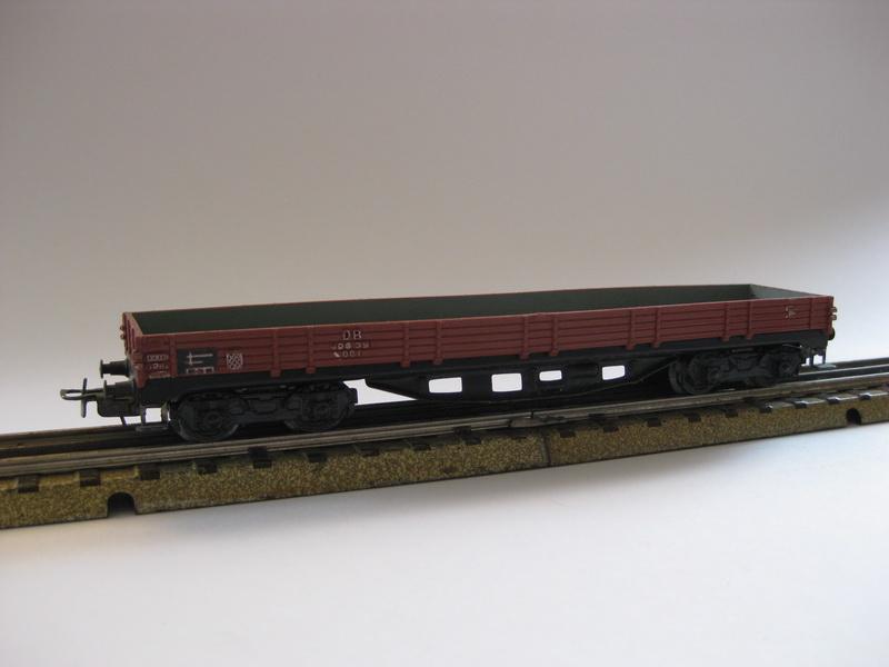 Märklin H0 4514.1 - 391/2 Niederbordwagen