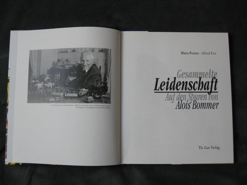Literatur-, Zeitschriften-, Bücher-Bilder Alois Bommer