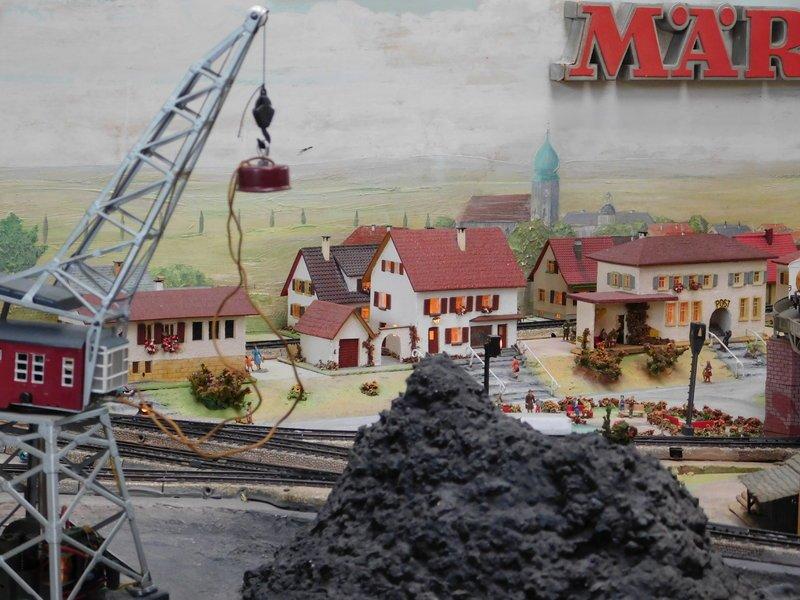 Gaggenau 2020 - Märklin Fertiganlage Nr. 13 Hafenbahn