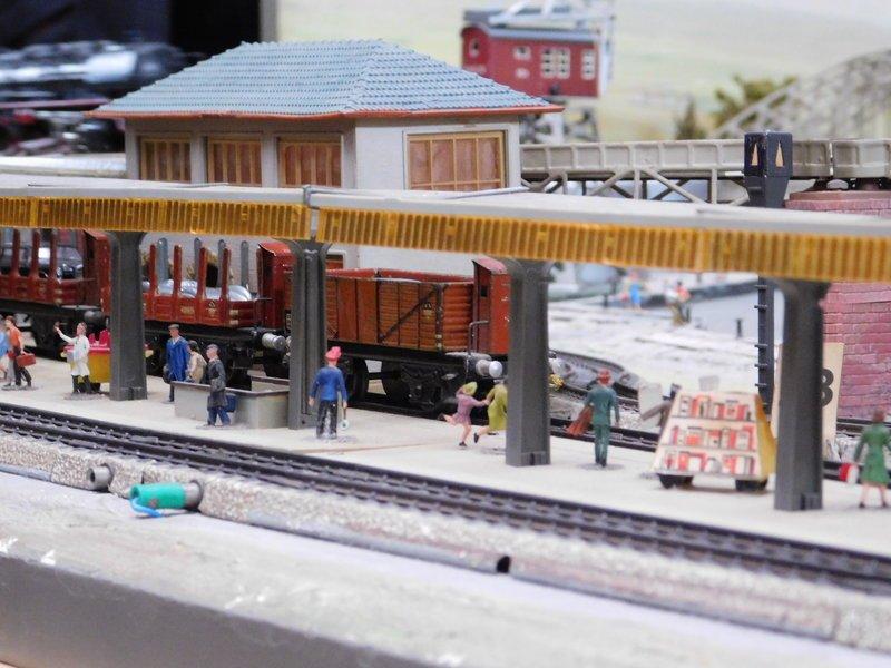 Gaggenau 2020 - Märklin Fertiganlage Nr. 13 Hafenbahnj