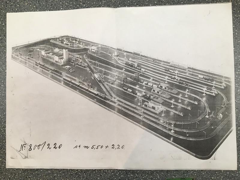 Gaggenau 2017 - Märklin Messeanlage Leipzig 1939