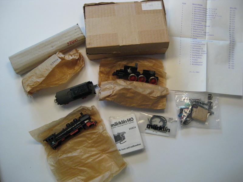 Märklin Teilesatz 3998 BR 38