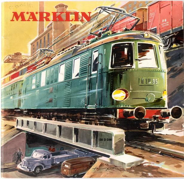 Deckblatt Märklin Katalog D 58