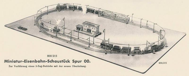 Miniatur-Eisenbahn-Schaustück Spur 00 800/215