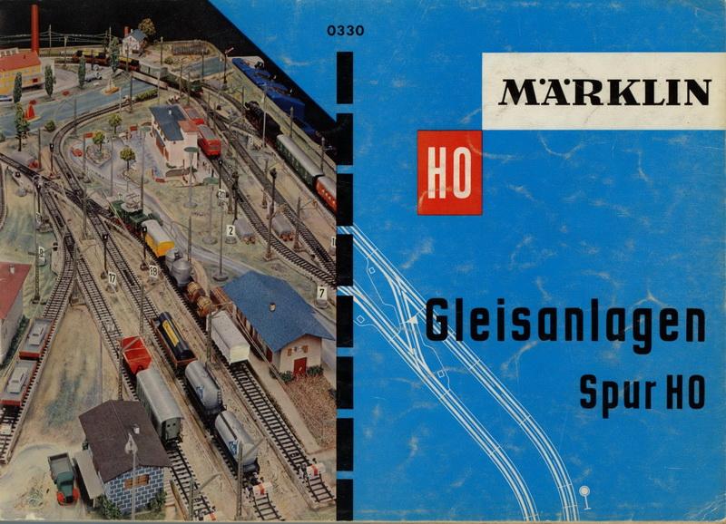Märklin Gleisanlagen Spur H0 0330, MN 0460 - 1959/60