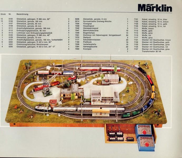 Märklin H0-Gleis-Anlagen 0390, MN 08 75
