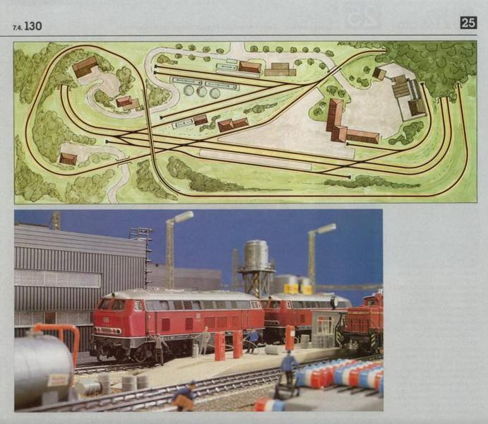 Anlage 25 K, Märklin H0 Gleisanlagen 0700