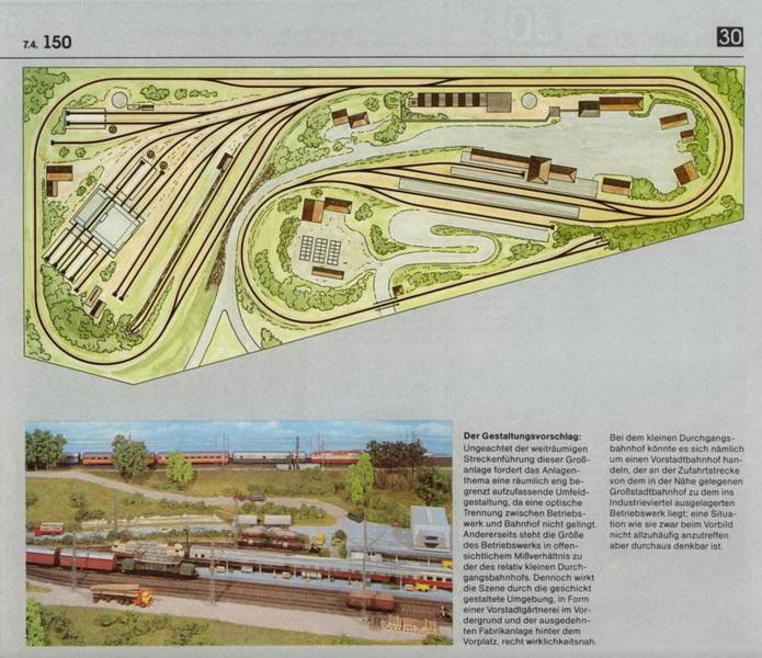 Anlage 30 K, Märklin H0 Gleisanlagen 0700