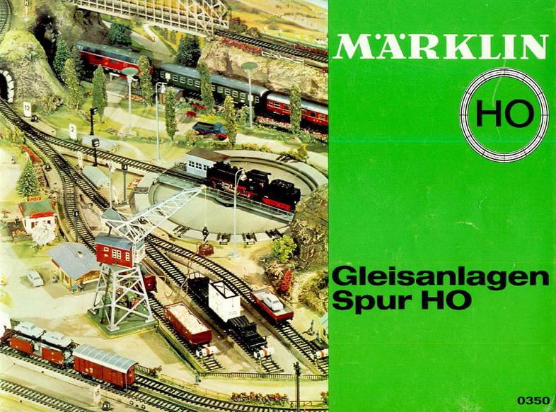 Märklin Gleisanlagen Spur H0, Heft 0350