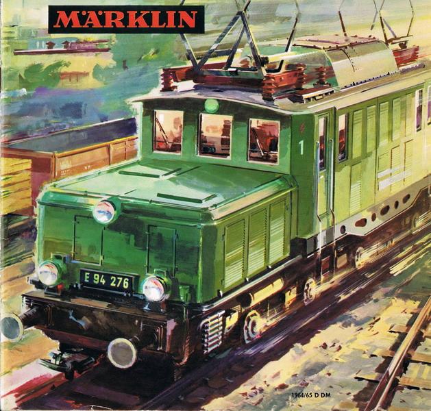 Deckblatt Märklin Katalog 1964/65 D