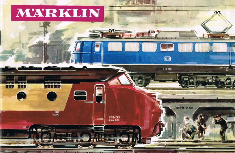 Deckblatt Märklin Katalog 1965/66 D
