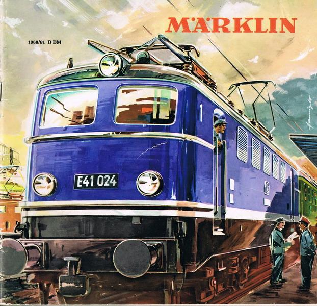 Deckblatt Märklin Katalog 1960/61 D