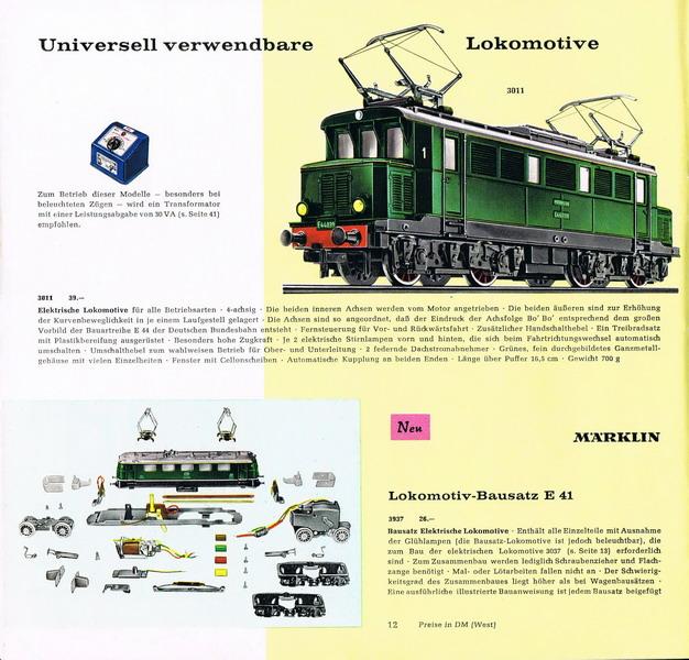 Märklin Lokomotiv-Bausatz E 41