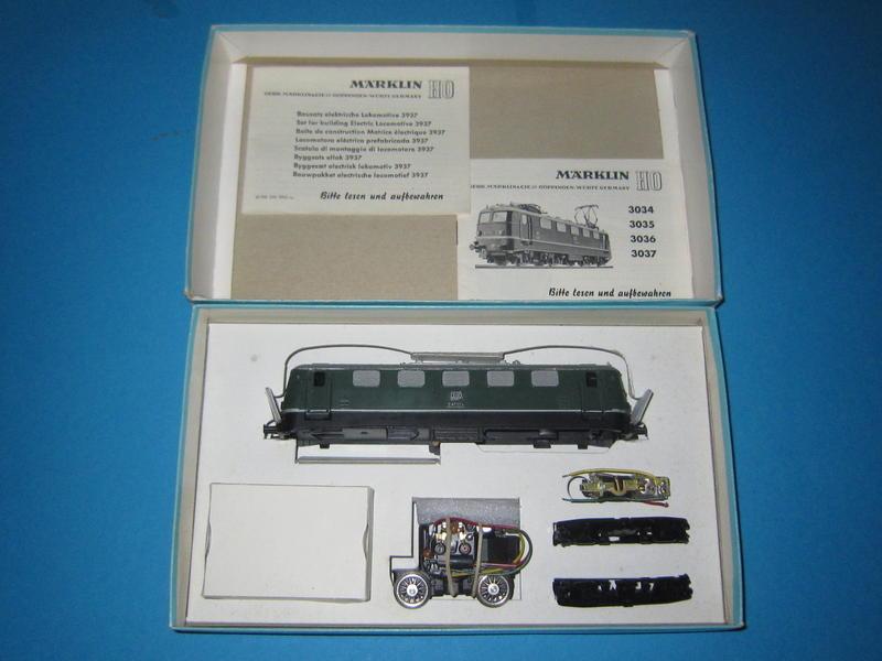 Märklin Lokomotiv - Bausatz 3937