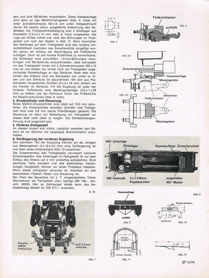 H0 Modell BR 66 Bausatz für Märklin