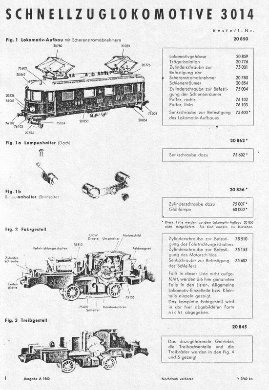 Märklin RET 800 - 3014.2 Restauration