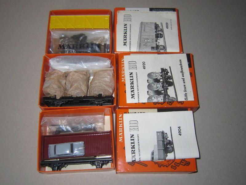 Märklin Teilesätze/Bausätze